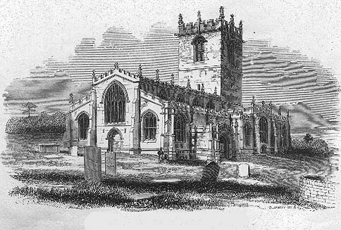 Ecclesfield Church from the south-west
